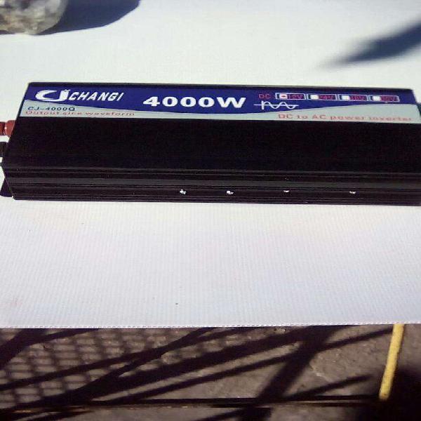 Inversor de Potencia 12/24 V Dc a 220 V nuevo en caja