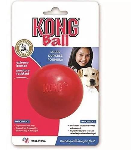 Pelota Kong Ball Classic Medium / Large Ideal Perro 13 A 30k