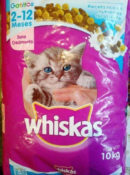 Alimento Bal. Whiskas Gatos,gatitos 10kg