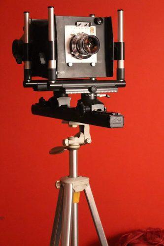 Cámara Monoriel Linhof 4 X 5 Visor Reflex Accesorios Y