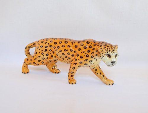 Impecable Figura Porcelana Inglesa Beswick Jaguar