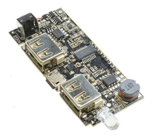 Modulo Cargador Powerbank 5v 3.1a Litio Ion 18650 + Lcd Ptec