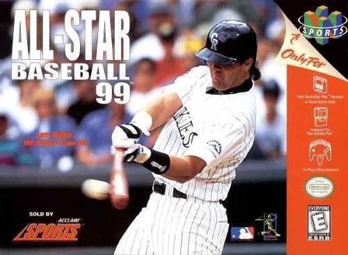 Nintendo 64 All Star Baseball 99 Solo La Caja Y El Libro.