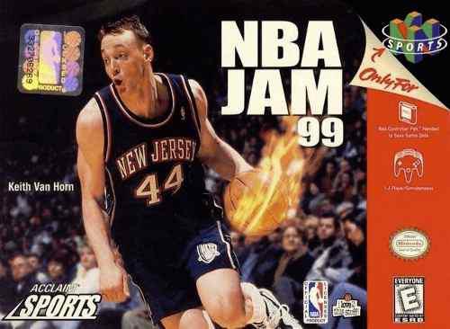 Nintendo 64 Nba Jam 99 Acclaim Sport Solo La Caja Y El Libro