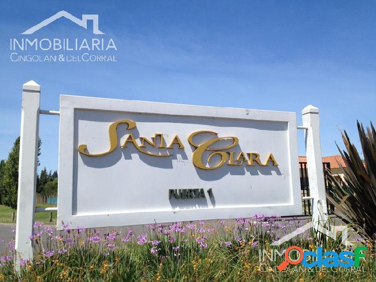 Muy buen lote LAGUNA barrio Santa Clara Villa Nueva