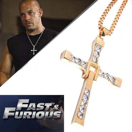 Cruz Y Cadena De Dominic Toretto Doradas 2020