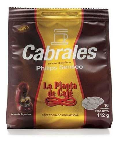 Capsulas Cafe Cabrales Cafetera Philips Senseo