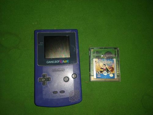 Game Boy Color Con Juego De Harry Potter