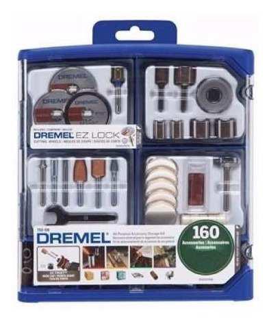 Kit Set 160 Accesorios Dremel 710 Rw Minitorno Ez Lock