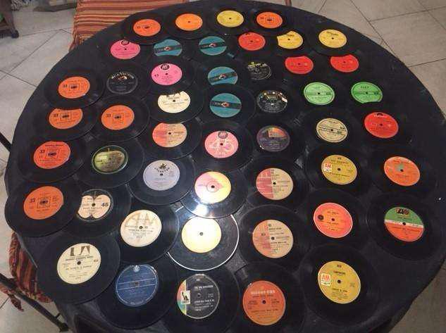 Lote De 72 Discos De 33 Y 45