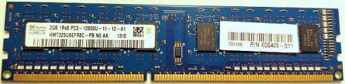 Memoria Ram Pc - Servidor 1.5v 2gb Hynix Pc3-12800u