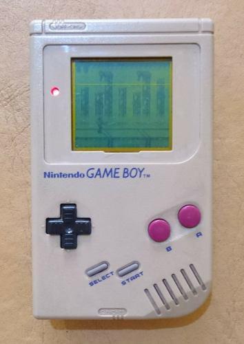 Nintendo Game Boy Original - Año 1989 - Con Un Juego