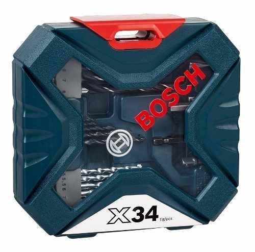 Set V Line Bosch 34 Accesorios Para Perforar Y Atornillar