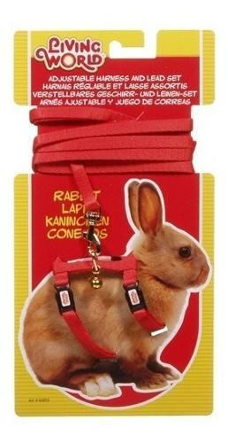 Conjunto Arnes Y Correa Para Conejos