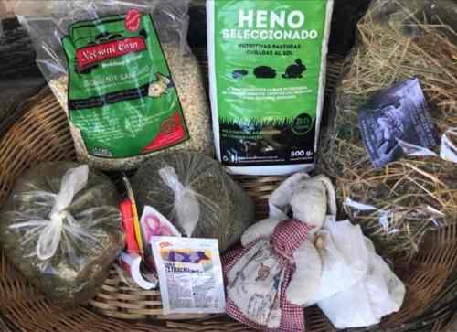 Kit De Alimentos Balanceados Y Otros Para Conejos