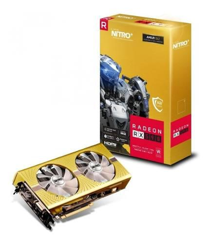 Placa De Video Sapphire Radeon Rx590 Nitro 8g Amd 50th