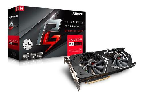 Placa Video Asrock Phantom Gaming D Radeon Rx 580 8gb Ddr5