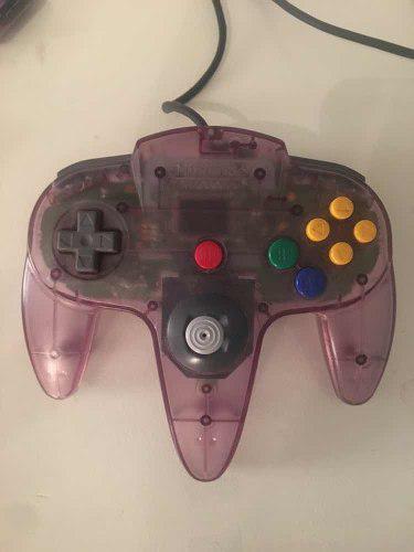 Control Nintendo 64 Original Violeta