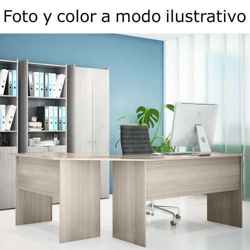 Escritorio En L Puesto De Trabajo Mesa Pc Varios Colores