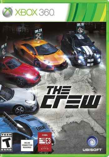 Juego The Crew Fisico Xbox 360 Original Auto Carrera Ubisoft