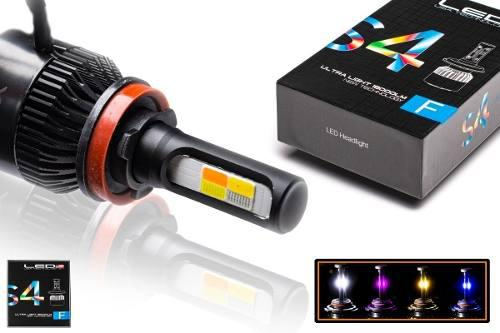 Led Cree S4 36000 Lm 4 Colores H3 H8 H27 H16 9006 9005 H1 H7