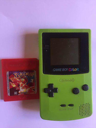 Nintendo Game Boy Color + Juego Súper Mario Bros Pokémon