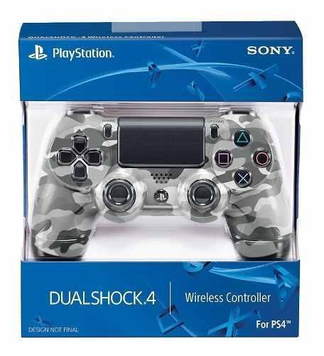 Joystick Ps4 Sony Playstation Dualshock Gray Camu / Makkax