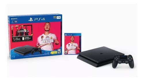 Playstation 4 Ps4 - 1tb - 2 Joystick - Fifa 2020