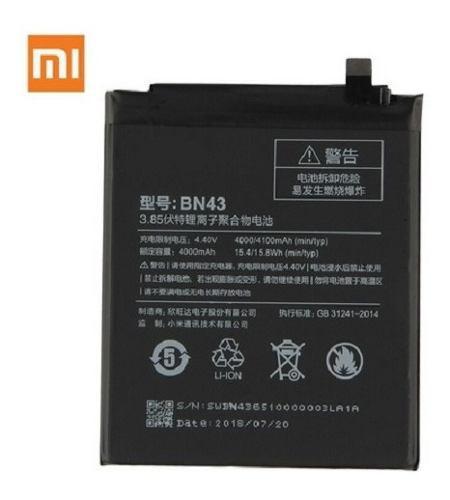Xiaomi Bateria Bn43 4000mah Redmi Note 4 Global Kit + Regalo