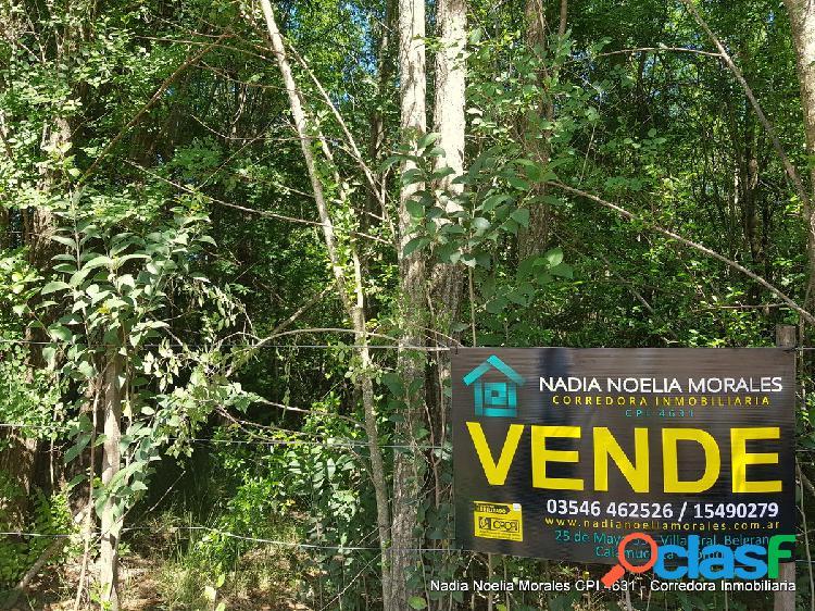 Terrenos barrio 4 Horizontes, Villa Gral Belgrano
