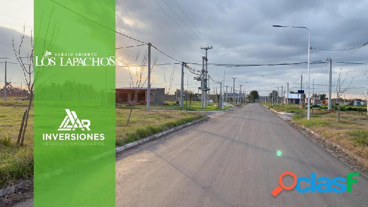 VENTA DE LOTES EN LOS LAPACHOS DE 300 M2 EN PEREZ -