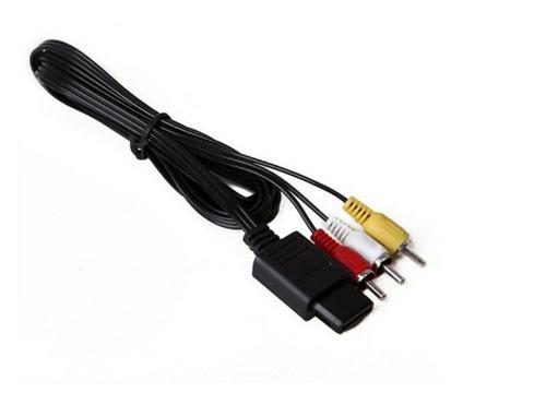 Cable Av Audio Video Gamecube Super Nintendo N64 Rca Snes