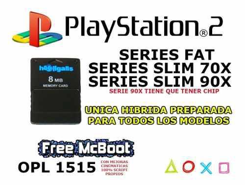 Free Mcboot + Opl 1515 + Tutorial Apta Para Todos Los Modelo
