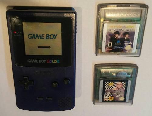 Game Boy Color + 2 Juegos - Mp - Envios
