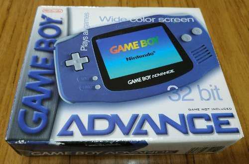 Gameboy Advance Impecable Completa En Caja, Con Manuales