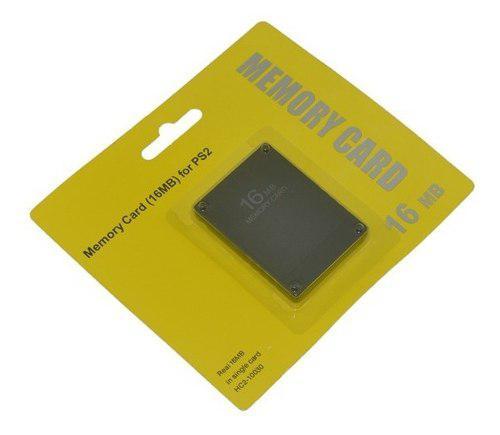 Memory Card 16mb Para Playstation 2 Ps2 [hc2-10030]