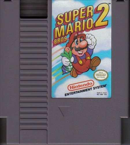 Nintendo Juego Nes Super Mario Bros 2