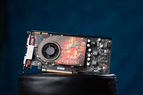 Placa De Video Ati Radeon 4830 - 512mb Ram