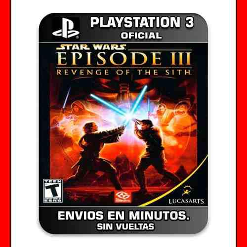 Star Wars Episodio 3 Ps3 The Revenge Of The Siths 15' Min