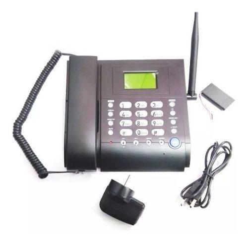 Telefono Fijo C/chip Gsm Libre Ideal Para Zona Rural O Campo