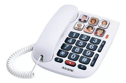 Teléfono Fijo Alcatel Tmax10 Teclas Grandes Manos Libres