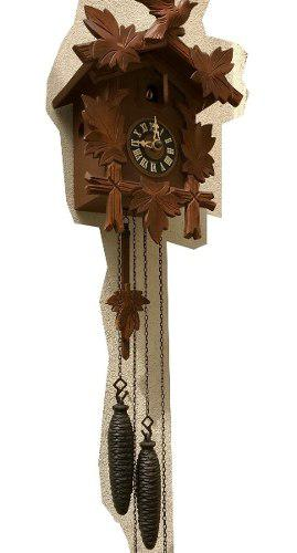 Antiguo Reloj Cucu Aleman Hubert Herr Funciona Perfecto