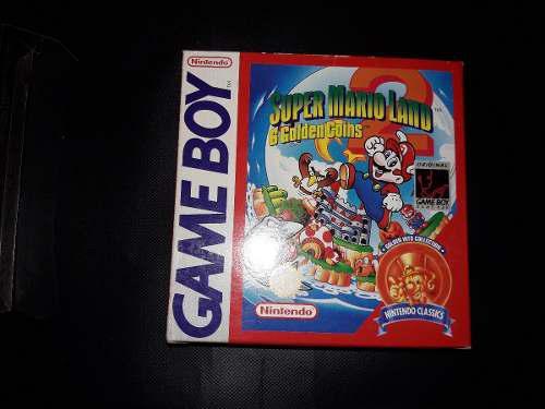 Impecable!!juego Original Game Boy Color Super Mario Land 2