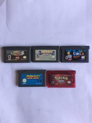 Lot 2 Juegos Gameboy Advance Originales Con Caja Protectora