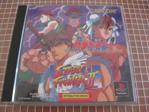 Street Figther 2 Movie 2 Ps1 $600