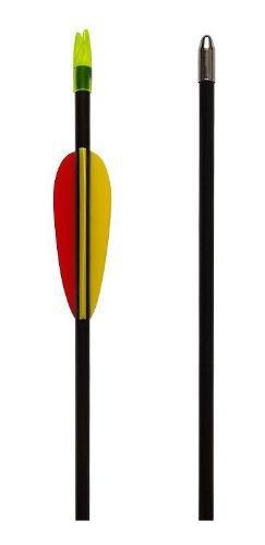 Flechas De Fibra De Vidrio 26 Pulgadas Para Arcos - Pack X 6