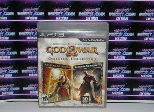 God Of War Origins Collection Play Station 3 Ps3 Juego