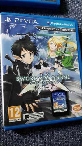 Sword Art Online En Caja Ps Vita Playstation