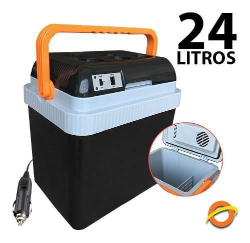 Conservadora Termica Heladera Portatil 12v Auto Frio Calor