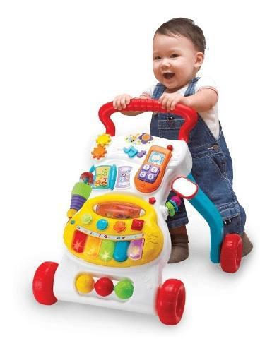 Andador Caminador Interactivo Con Luz Y Sonido Bebes Winfun